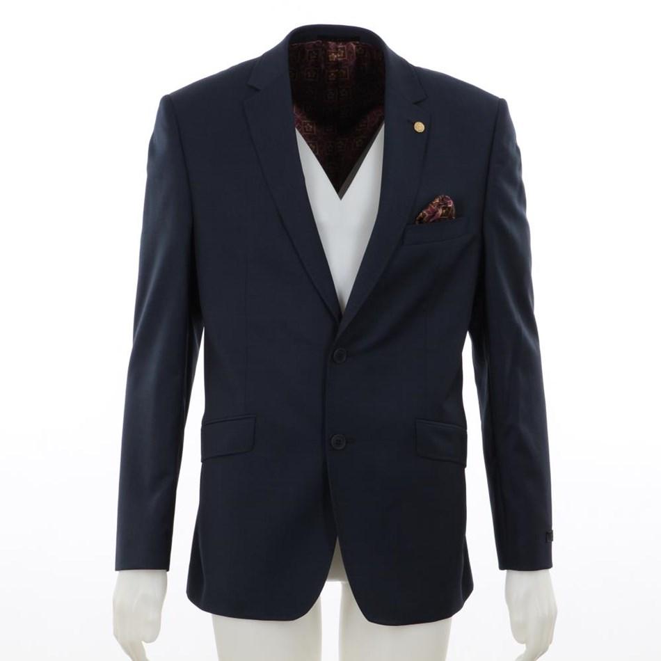 Ted Baker Soverign Wool Formal Jacket - 14 - blue
