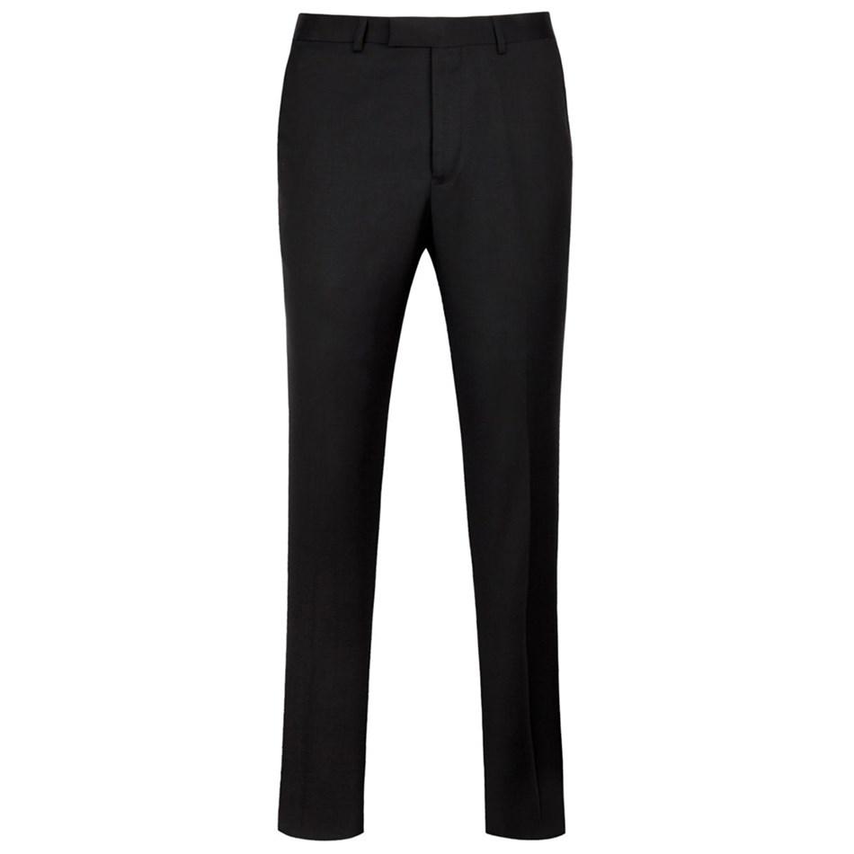 Ted Baker Soverign Wool Formal Trousers - 00 - black