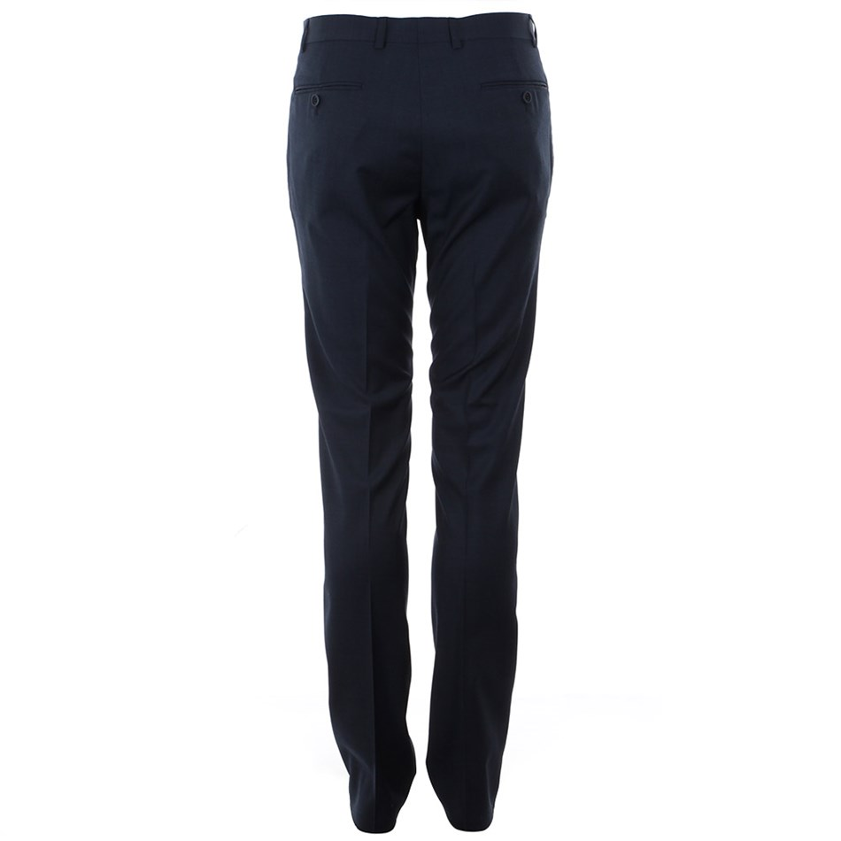 Ted Baker Soverign Wool Formal Trousers - 14 - blue
