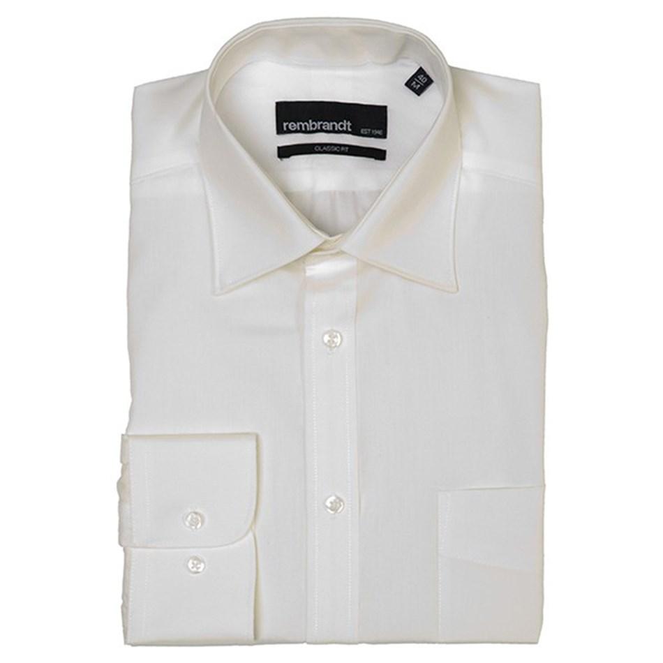 Rembrandt Sinatra Business Shirt - white