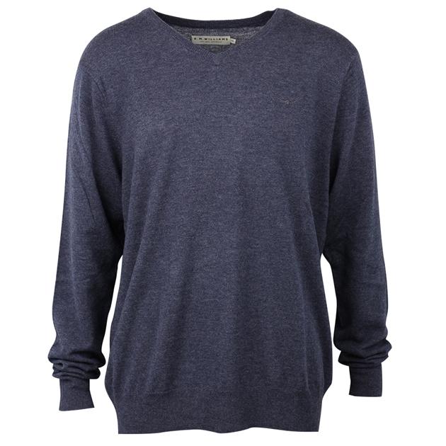 R.M. Williams Harris Sweater - um01 bluemarle