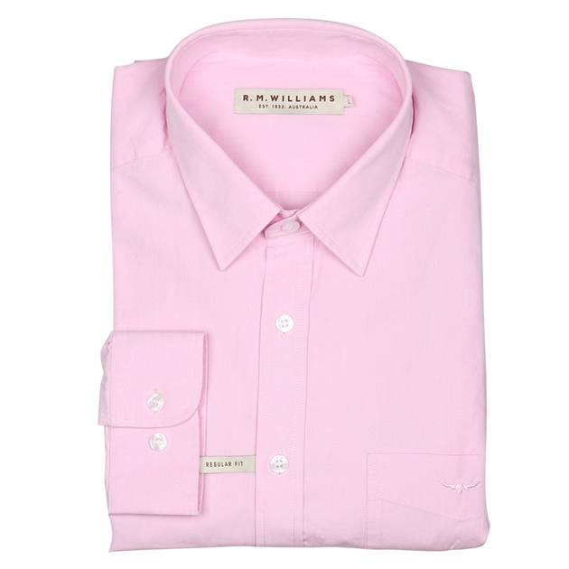 R.M. Williams Collins Shirt - ee69 pink
