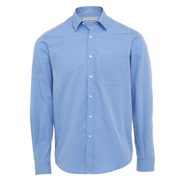 R.M. Williams Collins Shirt - ee40 light blue