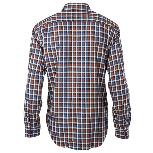 R.M. Williams Collins Shirt - nh01 brownnavy
