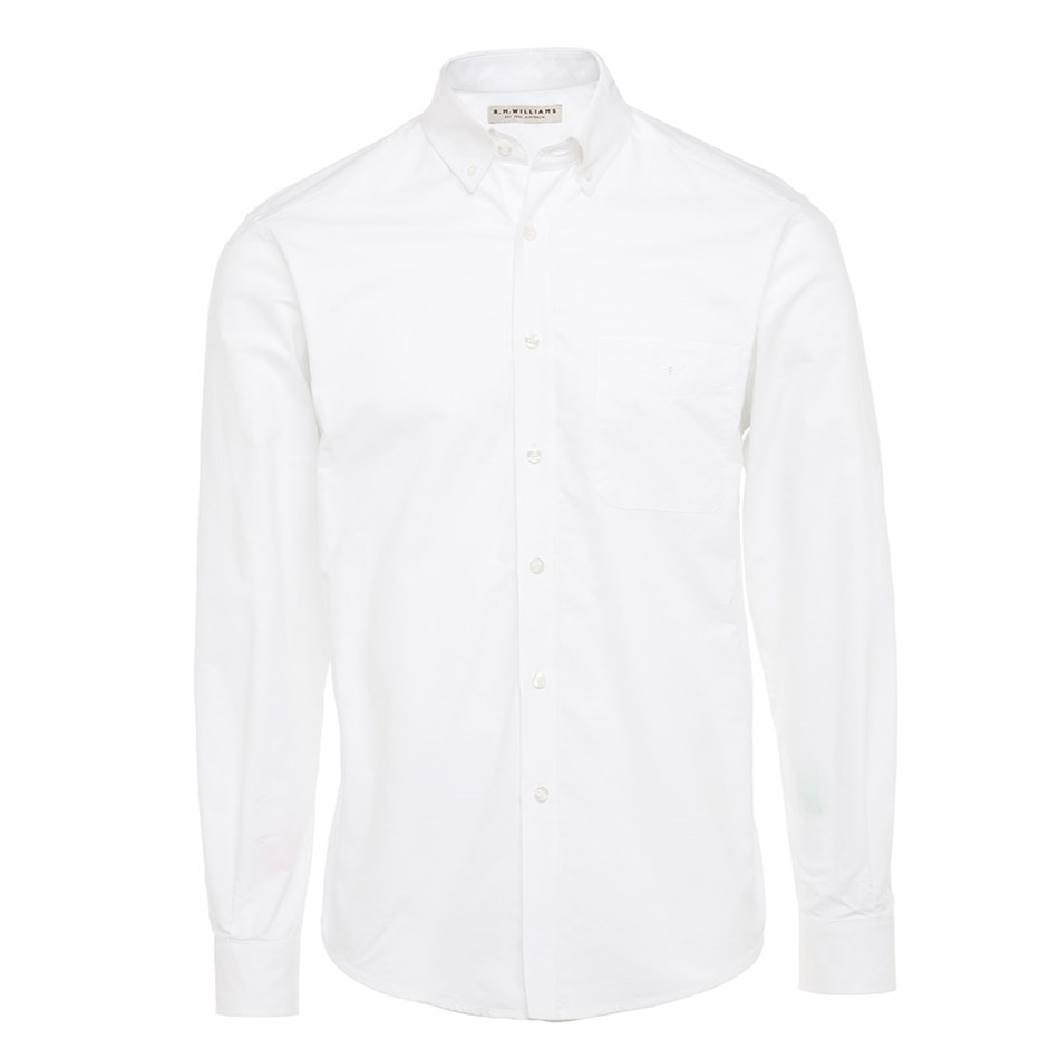 R.M. Williams Collins Shirt - of37 white
