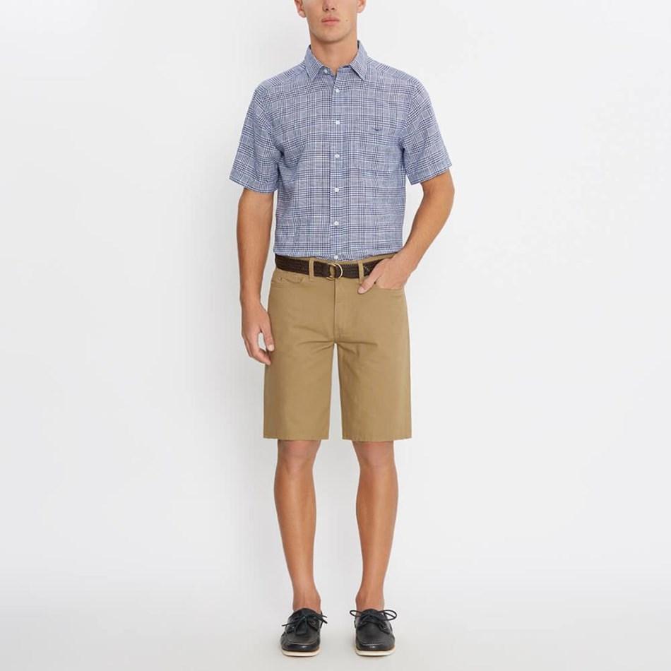 R.M. Williams Hervey Shirt - ps63 navywhite