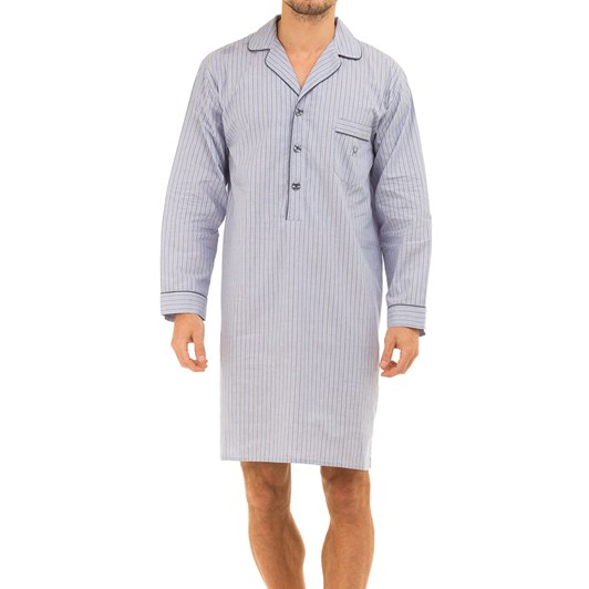 Haigman Mens Cotton Poplin Nightshirt