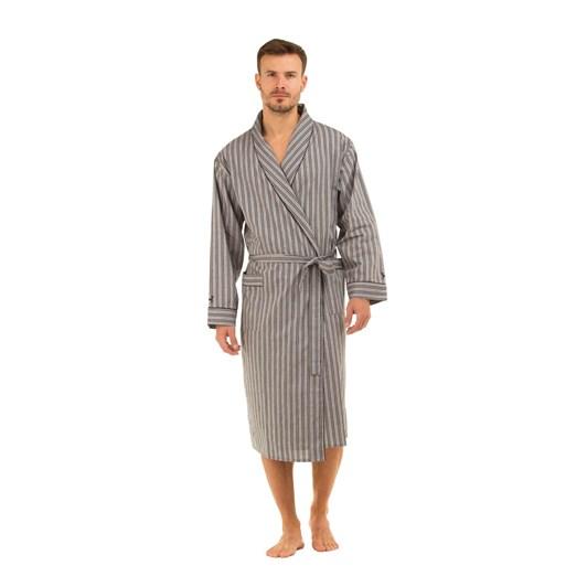 Haigman Mens Pure Cotton Poplin Dressing Gown