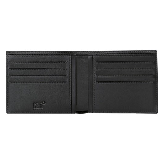 Montblanc Leather Extreme Wallet 8Cc Black
