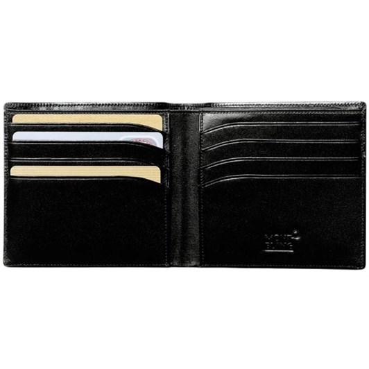 Montblanc Leather Meisterstuck Wallet 8CC Black