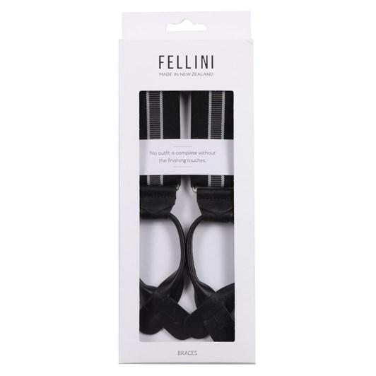 Fellini Fancy Button End Braces