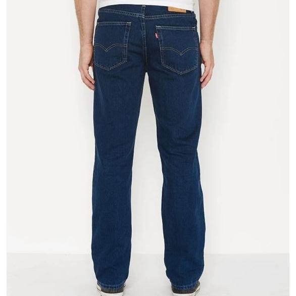 Levi'S  516 Slim Fit Straight Jean - blue black