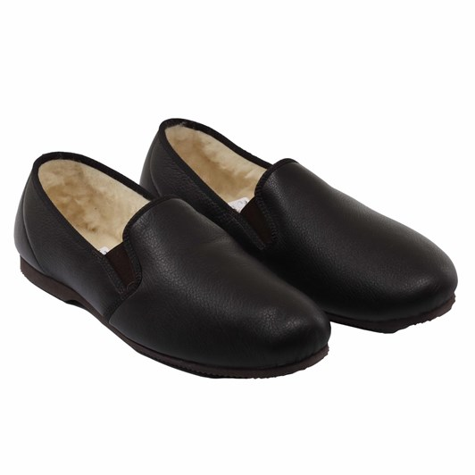 J Ballantyne & Co Colombo Deerskin Slipper - Wool Lining
