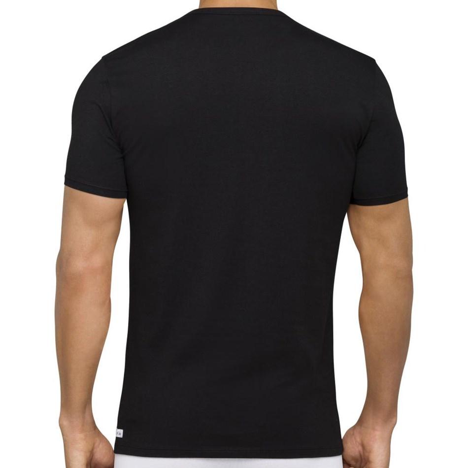Calvin Klein Cotton Stretch Crew Neck T Shirt 2PK -