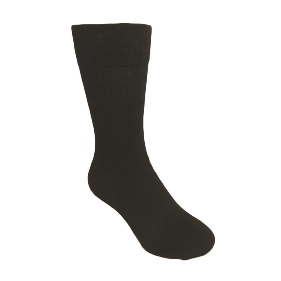 DS Mens Classic Merino 2PK Socks - 989 black