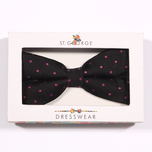 Sophos Bow Tie Pin Spot Silk