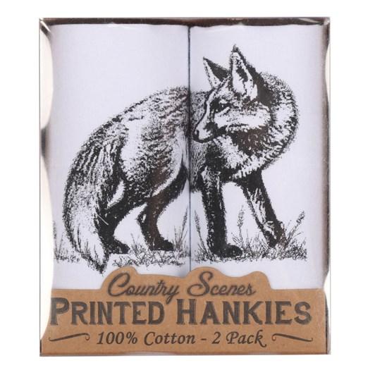 Sophos Hankies Animal Print 2 pack