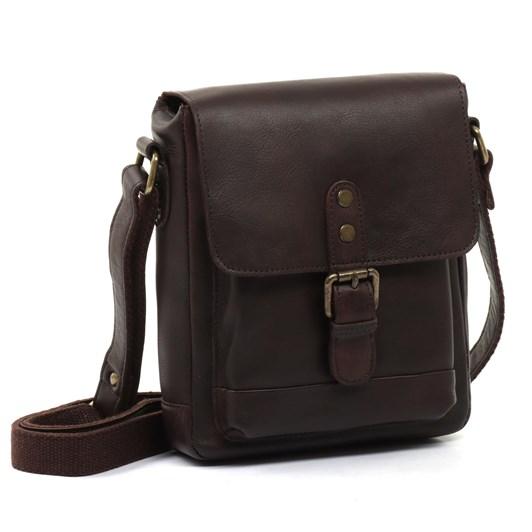 Ashwood Leather Small Messenger Bag