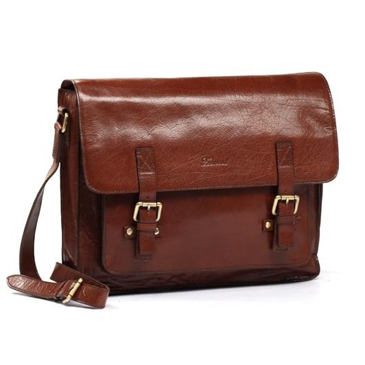 Ashwood Josh Leather Messenger Bag