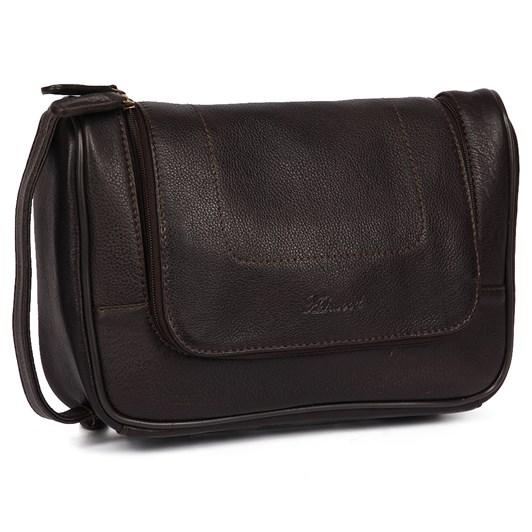 Ashwood Leather Hanging Wash Bag