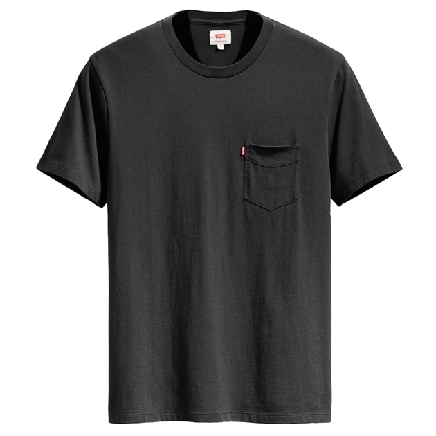 Levis Ss Set-In Sunset Pocket Tee -