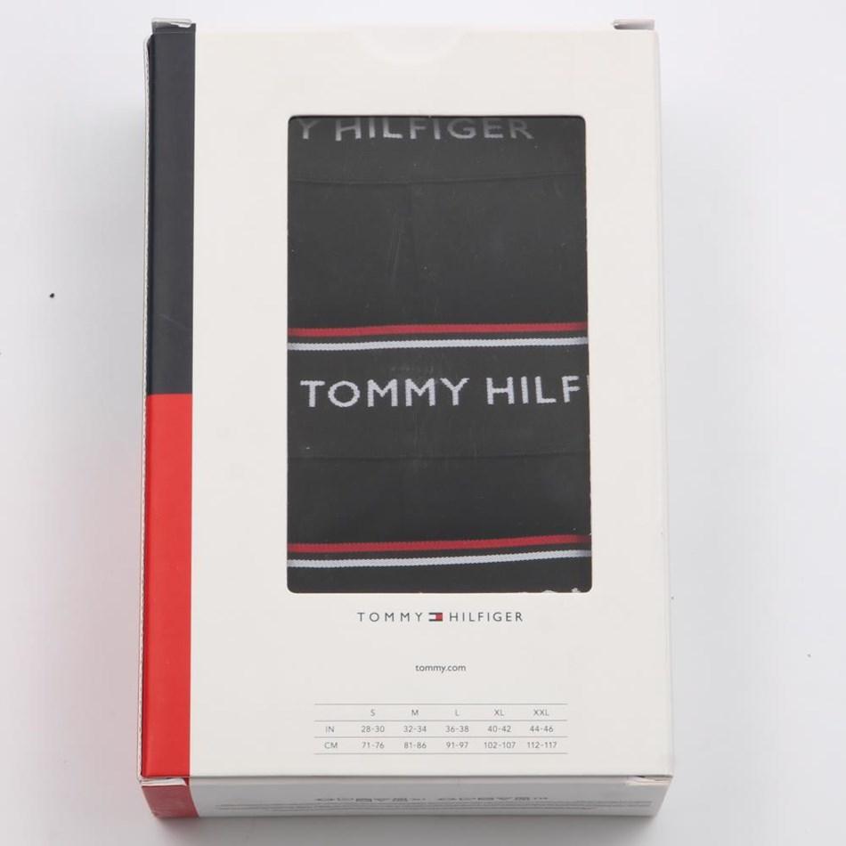 Tommy Hilfiger Low Rise Trunk 3 Pack - black