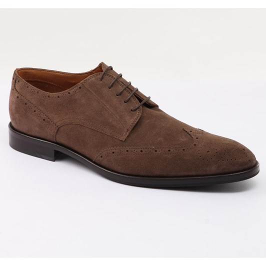 J.Ballantyne & Co Suede Brogue Shoes