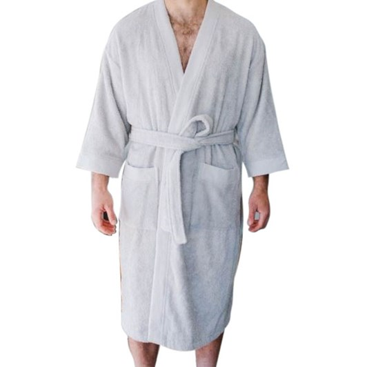 Baksana Terry Kimono Robe