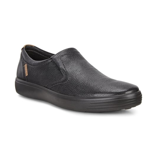 Ecco Soft 7 Mens Black Borneo