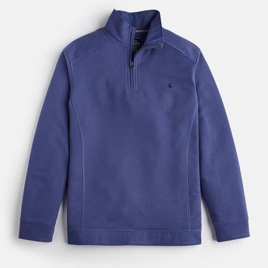 Joules Pique 1/4 Zip Sweatshirt