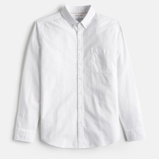Joules Long Sleeve Classic Fit Shirt (1 Pocket)