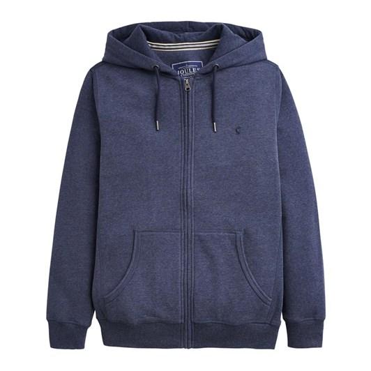 Joules Zip Thru Hooded Sweatshirt