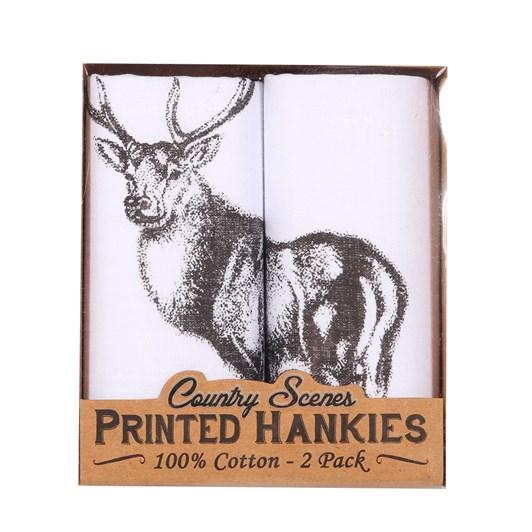 Sophos 2 Pack Handkerchiefs Stag