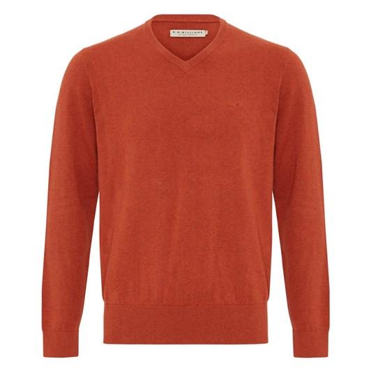 R.M. Williams Harris V Neck Sweater