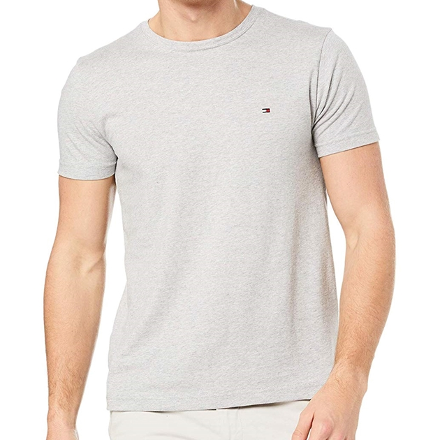 Tommy Hilfiger Essential Cotton Tee - 501 grey