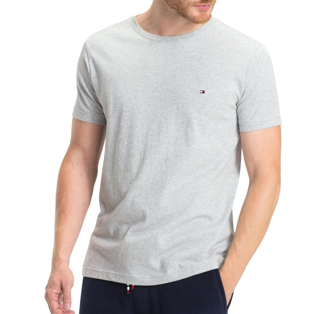 Tommy Hilfiger Essential Cotton Tee - t501 cloud htr
