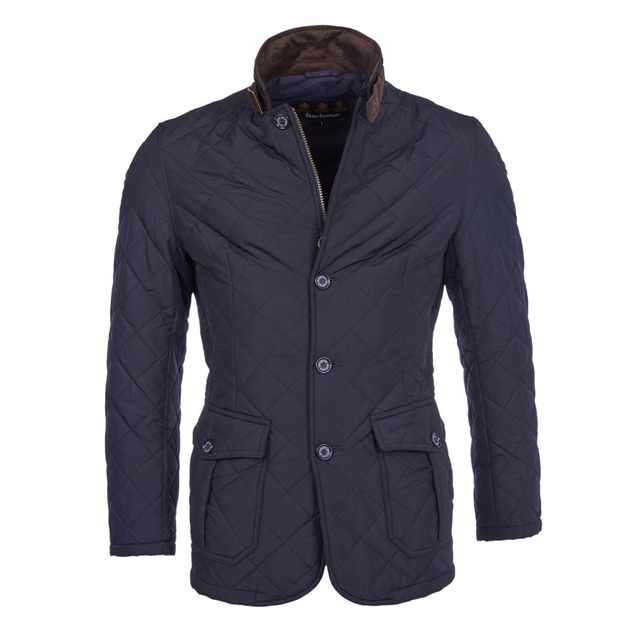 Barbour Quilted Lutz Jacket - navy 5fd3fe4dc