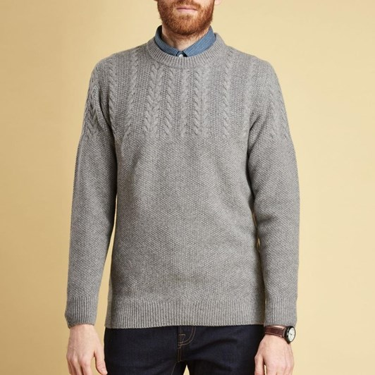 Barbour Crastil Cable Crew Jersey