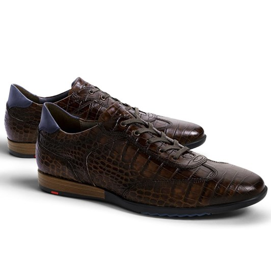 Lloyd Oxford Textured Leather Casual Shoe
