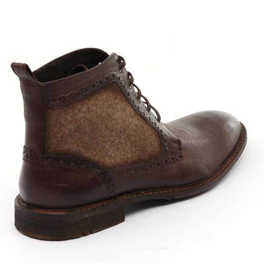 Lloyd Gusset Boot Plain Vamp, Rubber Sole