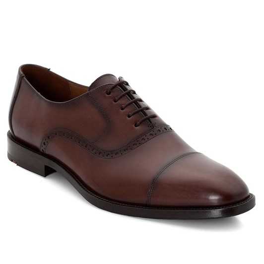 Lloyd 5 Tie Oxford Toe-Cap Shoe