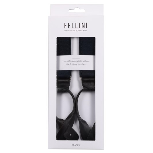 Fellini Plain 35mm Clip Braces