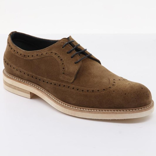 J Ballantyne & Co Brogue With Contrast Sole