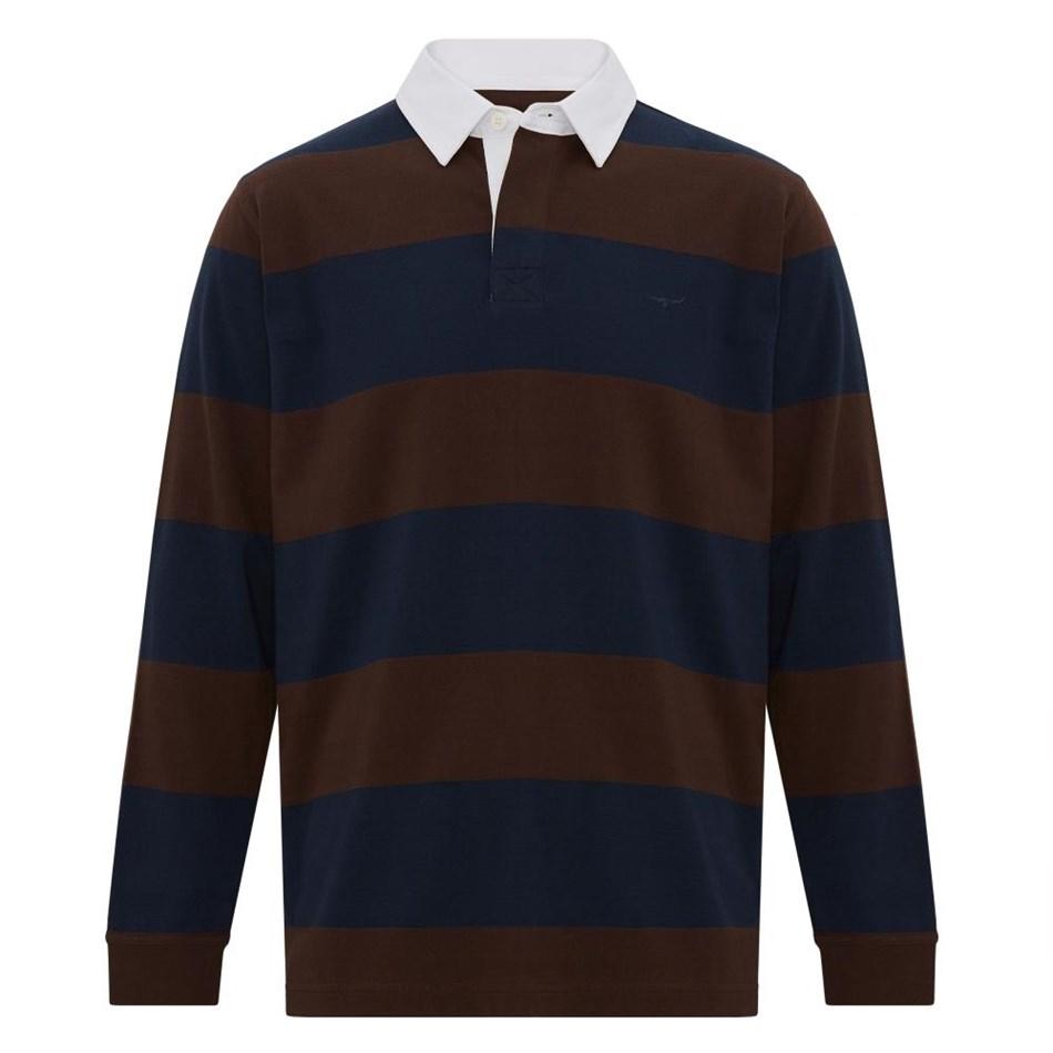 R.M. Williams Tweedale Block Stripe Rugby -