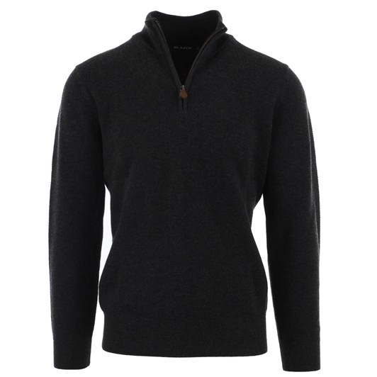 Blazer Merino/Cotton 1/2 Zip Knit