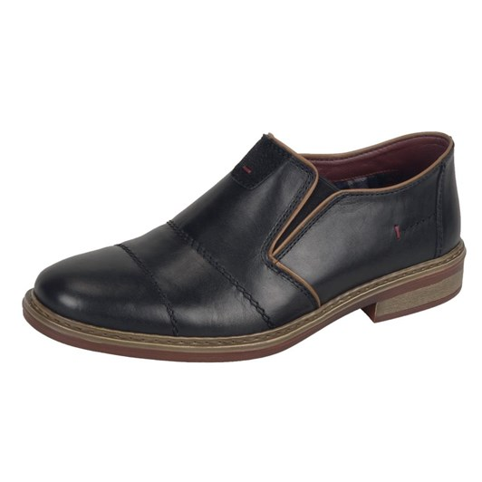 Rieker Slip-On With Stitched Upper