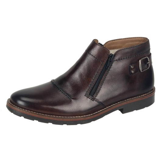 Rieker Ankle Boot With Rear Buckle Detail