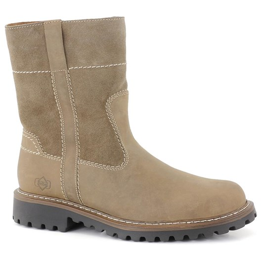 Josef Seibel High Zip Wool Lined Boot