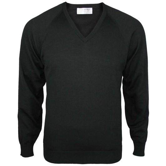 Silverdale  Super 2/50'S Vee Neck (100% Merino Wool)