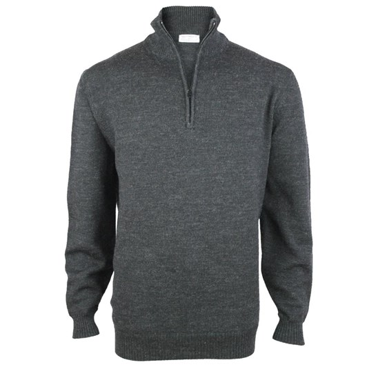 Silverdale  1/4 Zip Pullover (100% Pure Wool)